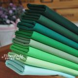 日本进口COSMO素布/纯色布---绿色系