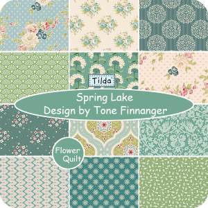 北欧著名品牌TILDA印花布组---spring lake   2015年春季新品