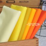 日本进口COSMO素布/纯色布---黄橙色系