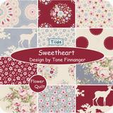 北欧著名品牌TILDA印花布组-Sweetheart 2015年秋季新品