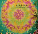 012000051日本进口金龟太阳晕染---100*100CM