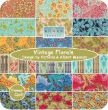 ★特价清仓★意大利ROWAN布组---Vintage Florals 18色布组