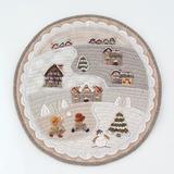 日本进口加藤礼子材料包---Round Quilt Winter 现货