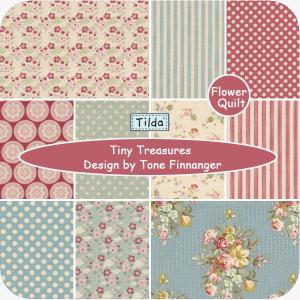 北欧著名品牌TILDA印花布组---Tiny Treasures