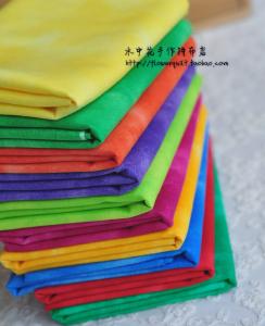 日本进口金龟纯色晕染布组---恋