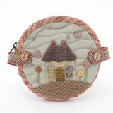 日本进口加藤礼子材料包---House Round Pouch 现货