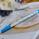 蓝色铁头水消笔(可换芯)