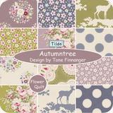 北欧著名品牌TILDA印花布组-Autumntree 2015年秋季新品