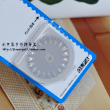 日本原装进口OLFA轮刀替换锯齿型刀片---45MM