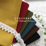 韩国进口素色先染布/野木棉