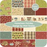 美国进口Henry Glass印花布---Hometown Holiday 19色