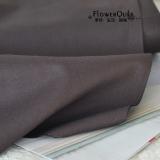 日本进口金龟素布/纯色布---咖啡色 1/4码