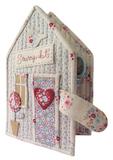 北欧著名品牌TILDA材料套包---房屋造型针线包