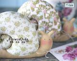 北欧著名品牌TILDA材料套包---2只蜗牛