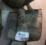日本进口加藤礼子材料包---Flower Scalup Bag